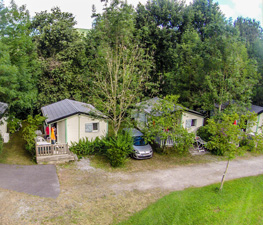 Emplacements camping Mauléon