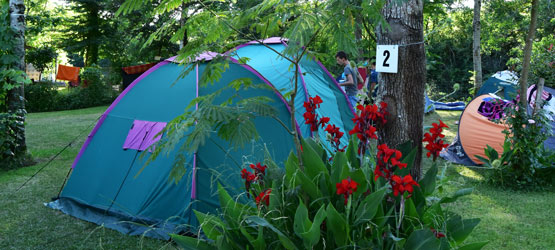 Emplacements camping Pays Basque